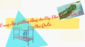 Cung cấp giường tầng sắt ra Phú Quốc – Công ty Nhà Tranh Gia Vị