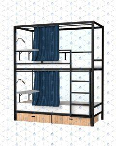 Giường tầng sắt Tứ Hưng 5in1 – lựa chọn phù hợp cho ký túc xá tư nhân, homestay, department