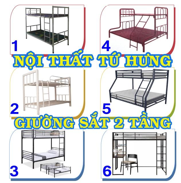 Mau Giuong Sat 2 Tang Min